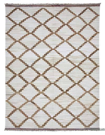 "New Contemporary Handwoven Kilim Rug - 8' 4"" x 10' 11"" (100 in. x 131 in.)"