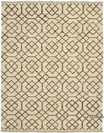 "New Contemporary Handwoven Kilim Rug - 8' 1"" x 10' 4"" (97 in. x 124 in.)"