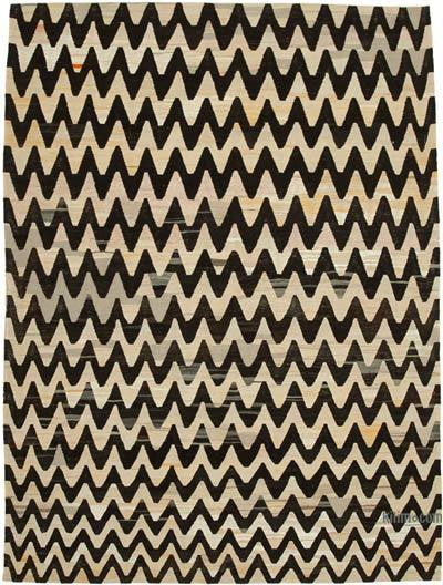 """New Contemporary Handwoven Kilim Rug - 7'9"""" x 10'6"""" (93 in. x 126 in.)"""