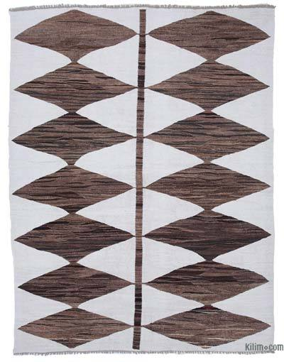 "New Contemporary Handwoven Kilim Rug - 8'4"" x 10'11"" (100 in. x 131 in.)"