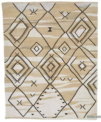 "New Contemporary Handwoven Kilim Rug - 7' 11"" x 10'  (95 in. x 120 in.)"