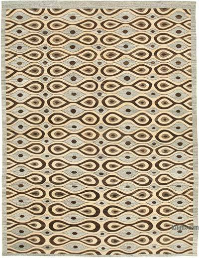 "New Contemporary Handwoven Kilim Rug - 8' 1"" x 10' 8"" (97 in. x 128 in.)"