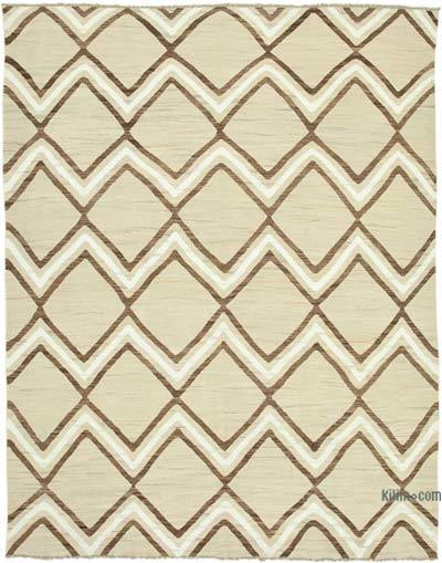 "New Contemporary Handwoven Kilim Rug - 8' 2"" x 10' 6"" (98 in. x 126 in.)"
