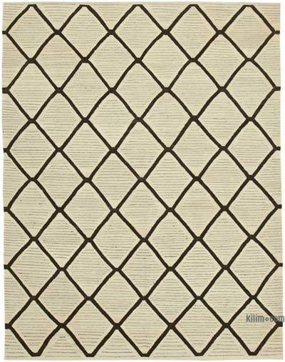 "New Contemporary Handwoven Kilim Rug - 8'  x 10' 2"" (96 in. x 122 in.)"
