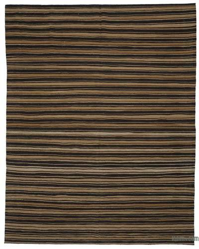"New Contemporary Handwoven Kilim Rug - 8' 6"" x 10' 10"" (102 in. x 130 in.)"