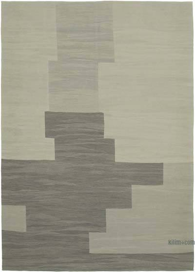 "New Contemporary Handwoven Kilim Rug - 7' 3"" x 10' 4"" (87 in. x 124 in.)"
