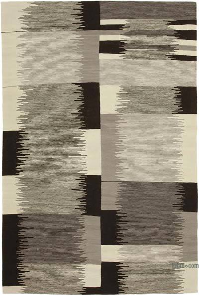"New Contemporary Handwoven Kilim Rug - 7'1"" x 10'8"" (85 in. x 128 in.)"