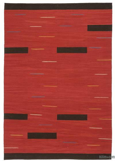 "New Contemporary Handwoven Kilim Rug - 5'10"" x 8'6"" (70 in. x 102 in.)"