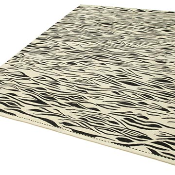 """New Contemporary Handwoven Kilim Rug - 7' 3"""" x 9' 6"""" (87 in. x 114 in.) - K0039775"""