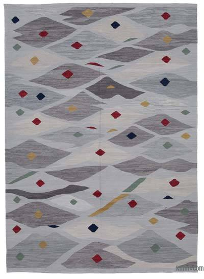 "New Contemporary Handwoven Kilim Rug - 6'9"" x 9'6"" (81 in. x 114 in.)"