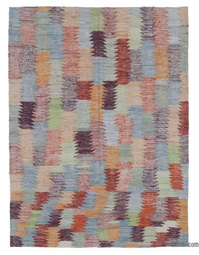 "New Contemporary Handwoven Kilim Rug - 4'7"" x 6'1"" (55 in. x 73 in.)"