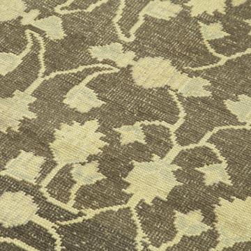 """All Wool Hand-Knotted Vintage Turkish Rug - 3' 11"""" x 6' 4"""" (47 in. x 76 in.) - K0039891"""