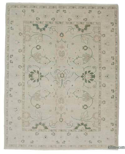 """New Hand Knotted All Wool Oushak Rug - 8'2"""" x 10'5"""" (98 in. x 125 in.)"""