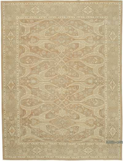"New Hand Knotted All Wool Oushak Rug - 8' 10"" x 14' 8"" (106 in. x 176 in.)"
