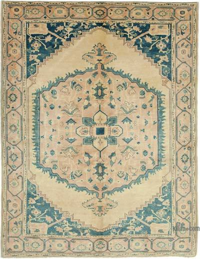 """New Hand Knotted All Wool Oushak Rug - 6' 3"""" x 8'  (75 in. x 96 in.)"""