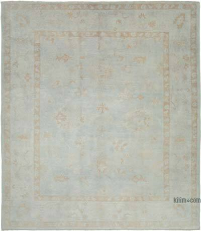 "New Hand Knotted All Wool Oushak Rug - 10'3"" x 11'7"" (123 in. x 139 in.)"