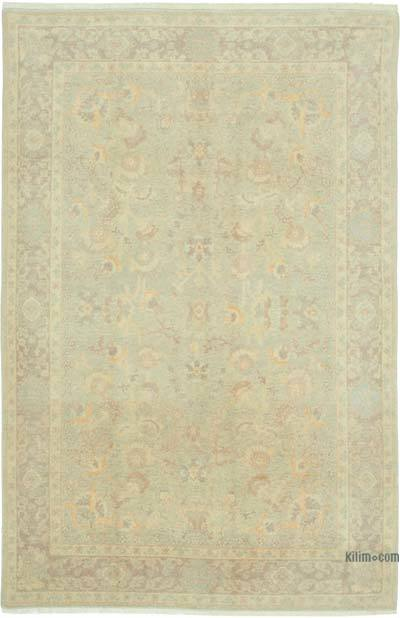 "New Hand Knotted All Wool Oushak Rug - 6' x 8'11"" (72 in. x 107 in.)"
