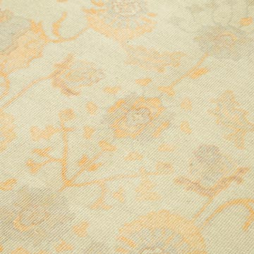 """Beige New Hand Knotted Wool Oushak Rug - 5' 11"""" x 8' 10"""" (71 in. x 106 in.) - K0040497"""