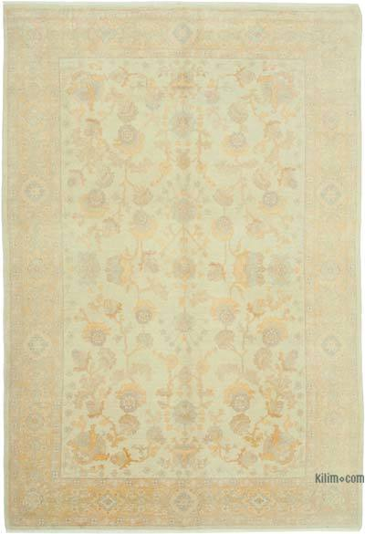 "New Hand Knotted All Wool Oushak Rug - 5' 11"" x 8' 10"" (71 in. x 106 in.)"