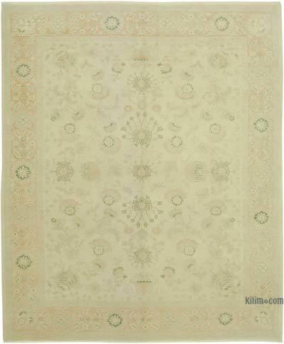 Bej Yeni El Dokuma Uşak Halısı - 264 cm x 317 cm