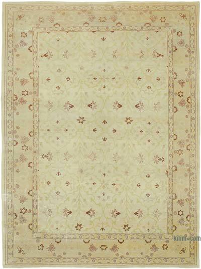 """New Hand Knotted All Wool Oushak Rug - 8'6"""" x 11'10"""" (102 in. x 142 in.)"""