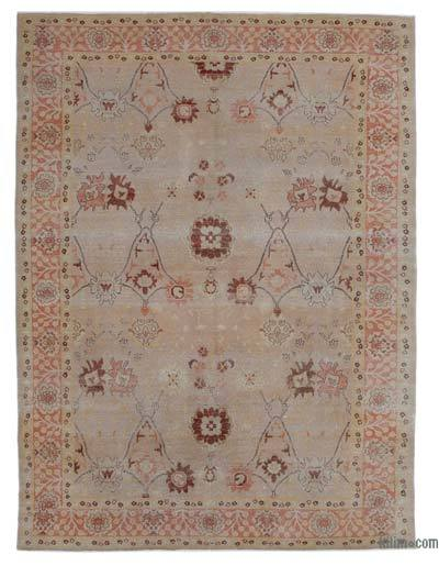 "New Hand Knotted All Wool Oushak Rug - 8'10"" x 11'9"" (106 in. x 141 in.)"