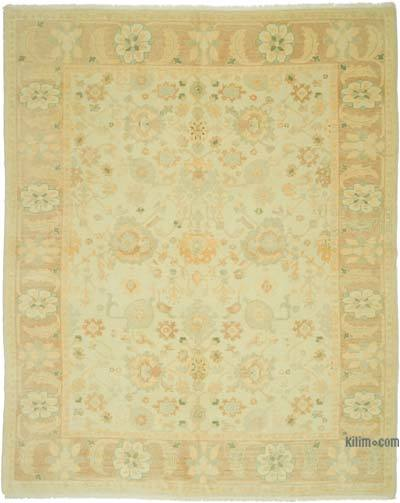 """New Hand Knotted All Wool Oushak Rug - 8'2"""" x 9'11"""" (98 in. x 119 in.)"""