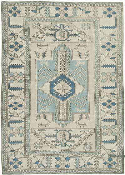 "New Hand Knotted All Wool Oushak Rug - 7'3"" x 10'4"" (87 in. x 124 in.)"