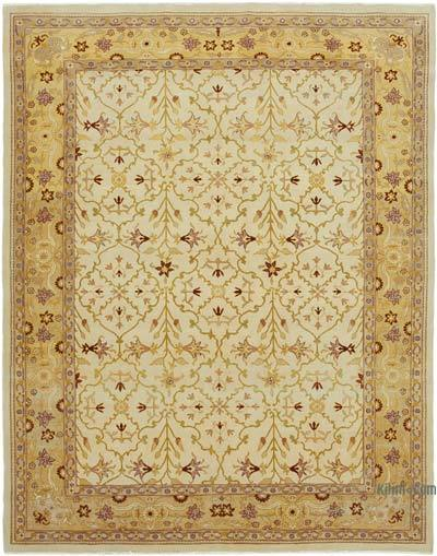 """New Hand Knotted All Wool Oushak Rug - 8' 10"""" x 11' 1"""" (106 in. x 133 in.)"""