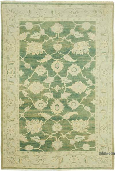 """New Hand Knotted All Wool Oushak Rug - 6' x 8'10"""" (72 in. x 106 in.)"""