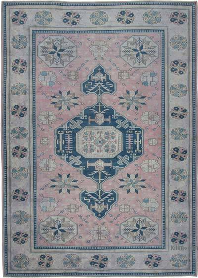 "New Hand Knotted All Wool Oushak Rug - 9' 7"" x 13' 5"" (115 in. x 161 in.)"