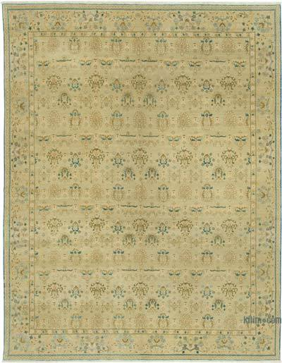 "New Hand Knotted All Wool Oushak Rug - 7' 8"" x 9' 11"" (92 in. x 119 in.)"