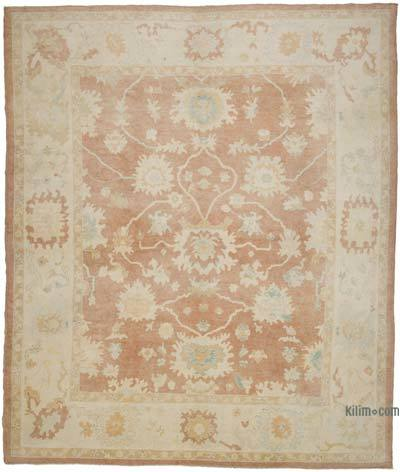 """New Hand Knotted All Wool Oushak Rug - 10' x 11'11"""" (120 in. x 143 in.)"""