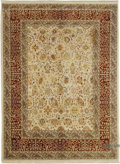 """New Hand Knotted All Wool Oushak Rug - 6' 6"""" x 8' 8"""" (78 in. x 104 in.)"""