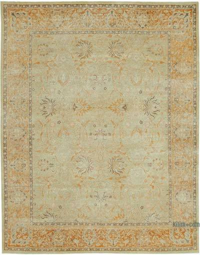"New Hand Knotted All Wool Oushak Rug - 7'11"" x 10'3"" (95 in. x 123 in.)"