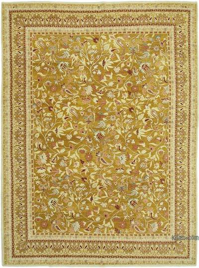 "New Hand Knotted All Wool Oushak Rug - 8' 11"" x 11' 11"" (107 in. x 143 in.)"