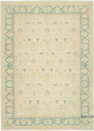 """New Hand Knotted All Wool Oushak Rug - 7'9"""" x 10'7"""" (93 in. x 127 in.)"""