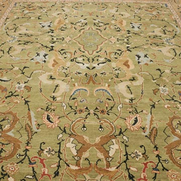 """New Hand Knotted Wool Oushak Rug - 8' 10"""" x 12'  (106 in. x 144 in.) - K0040540"""