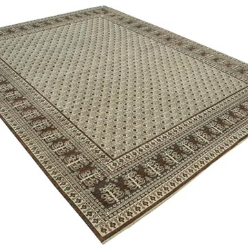 """New Hand Knotted Wool Oushak Rug - 7' 8"""" x 10' 2"""" (92 in. x 122 in.) - K0040541"""