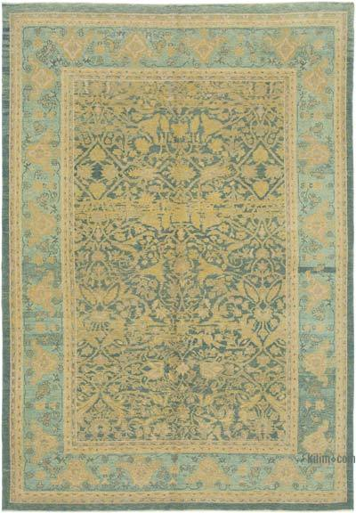 "New Hand Knotted All Wool Oushak Rug - 6'5"" x 9'9"" (77 in. x 117 in.)"