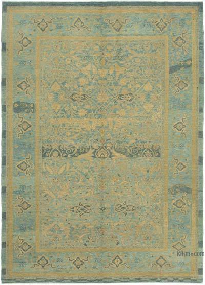 "New Hand Knotted All Wool Oushak Rug - 6'6"" x 8'11"" (78 in. x 107 in.)"
