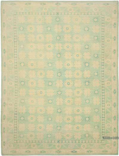 """New Hand Knotted All Wool Oushak Rug - 9' 2"""" x 12' 3"""" (110 in. x 147 in.)"""