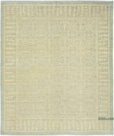 "New Hand Knotted All Wool Oushak Rug - 7' 9"" x 9' 1"" (93 in. x 109 in.)"