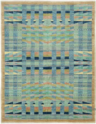"New Hand Knotted All Wool Oushak Rug - 5' 5"" x 6' 11"" (65 in. x 83 in.)"