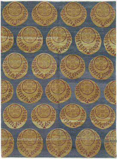 """New Hand Knotted All Wool Oushak Rug - 5' 11"""" x 8'  (71 in. x 96 in.)"""