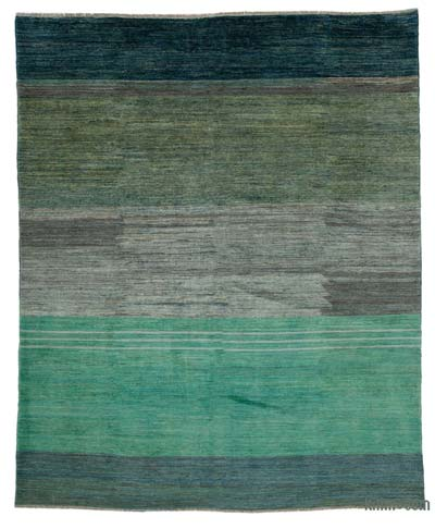 "New Hand Knotted All Wool Oushak Rug - 7' 9"" x 9' 10"" (93 in. x 118 in.)"