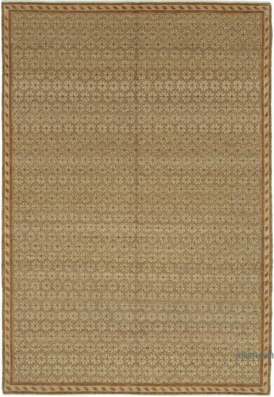 "New Hand Knotted All Wool Oushak Rug - 6'3"" x 8'11"" (75 in. x 107 in.)"