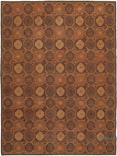 """New Hand Knotted All Wool Oushak Rug - 9' 3"""" x 12' 6"""" (111 in. x 150 in.)"""