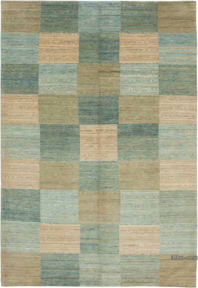 """New Hand Knotted All Wool Oushak Rug - 6' 2"""" x 9'  (74 in. x 108 in.)"""