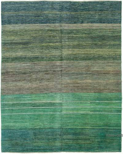 "New Hand Knotted All Wool Oushak Rug - 7' 11"" x 9' 9"" (95 in. x 117 in.)"